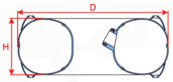 internal donut dimensions